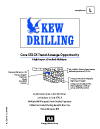 CORE OKLAHOMA PROJECT (KEW Drilling)