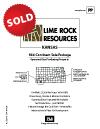 LIME ROCK - KANSAS PROPERTIES