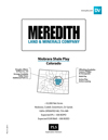 Meredith Land & Minerals - Colorado Acreage