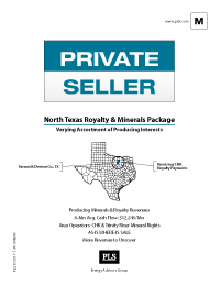 NORTH TEXAS SALE PACKAGE