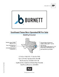 SOUTHEAST TEXAS PROPERTIES