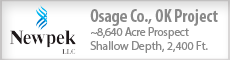 OSAGE CO., OK PROJECT