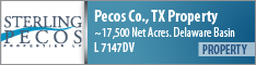 PECOS CO., TX PROJECT