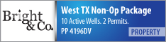 WEST TEXAS NONOPERATED PKG