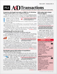 A&D Transactions